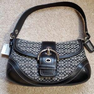 Coach Soho Mini Signature Flap Bag